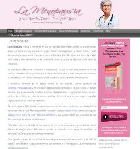 sitio web la menopausia