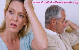cambios de humor repentinos en la menopausia