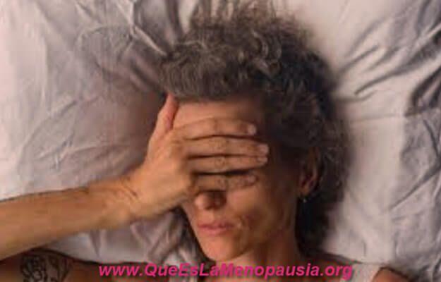 dificultad para dormir en la menopausia