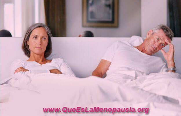 disminucion del deseo sexual en la menopausia