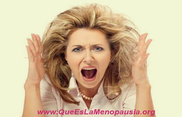 irritabilidad durante la menopausia