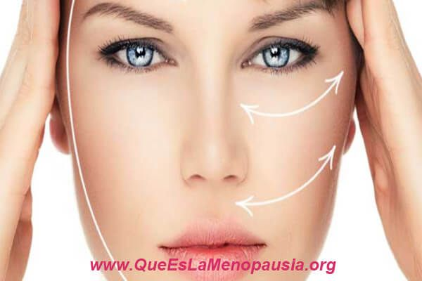 lifting facial en la menopausia