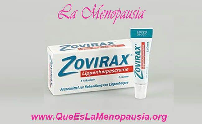 Imagen de remedio Zovirax para el tratamiento del herpes genital recurrente