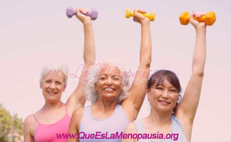 Ejercicios de resistencia - Climaterio y Menopausia