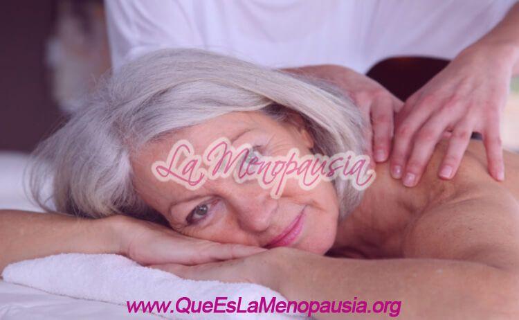 Cómo ayuda el masaje a la menopausia