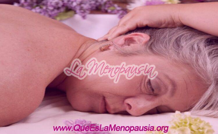 Terapia de masajes para la menopausia