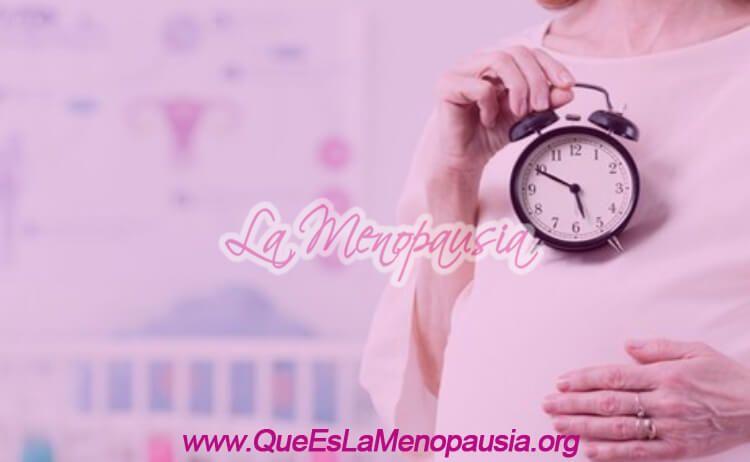 Estoy a tiempo de quedar embarazada en la menopausia