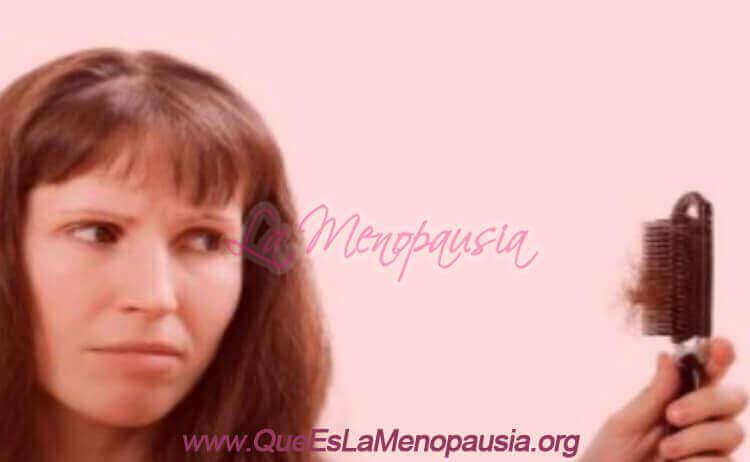 Alopecia en la menopausia