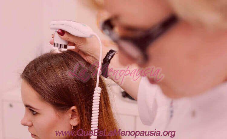 Trasplante o injerto capilar en la menopausia