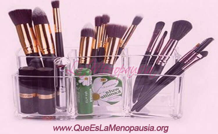 Organizador de maquillaje en tamaño mini