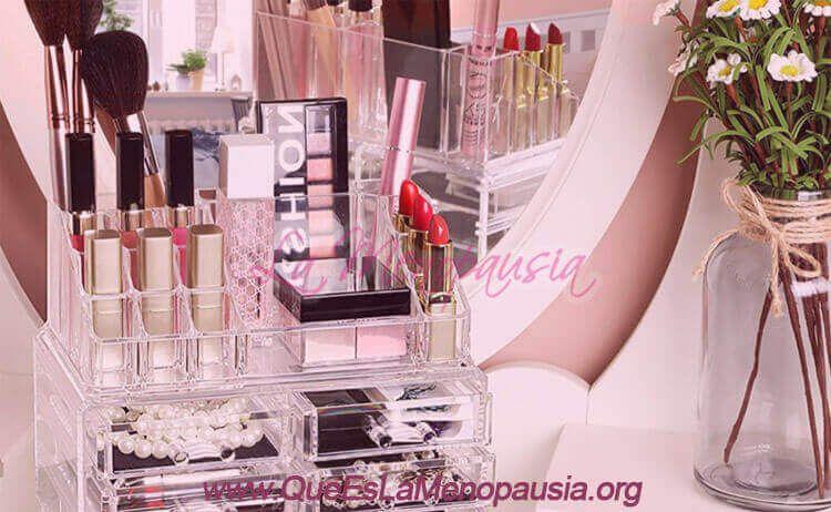 Tipos de organizadores de maquillajes