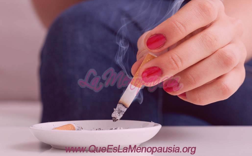 Tabaquismo y menopausia