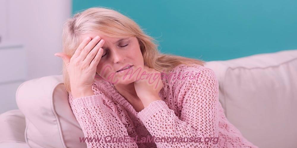Síntomas en la postmenopausia