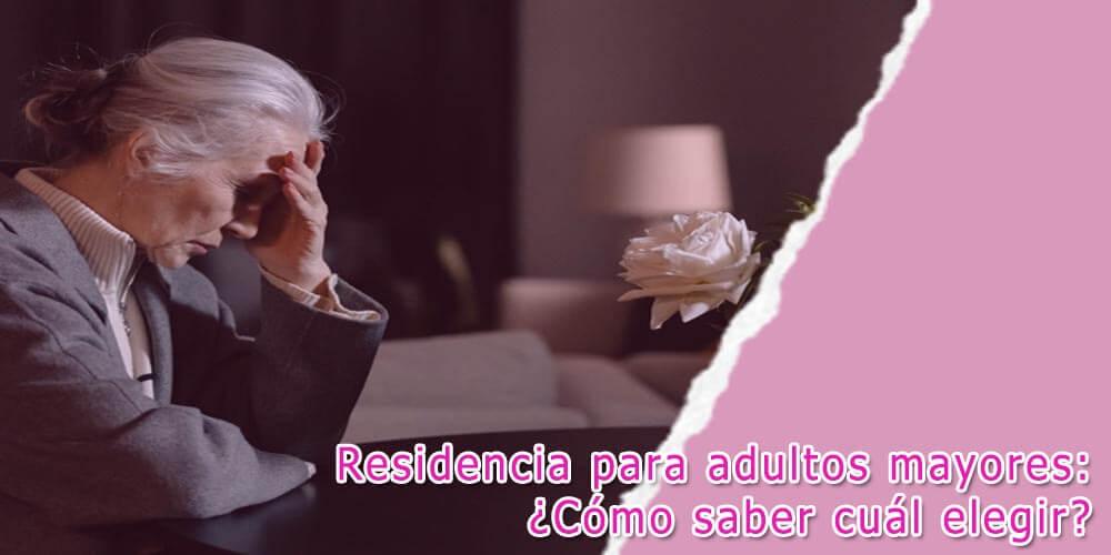 Residencia para adultos mayores